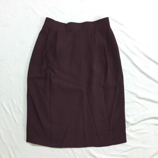 (Sale) Chân váy bút chì Synonyme (hình tự vhupj)