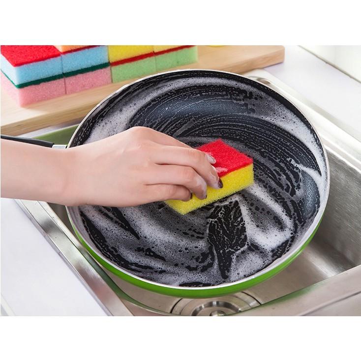 Miếng mút rửa bát, vệ sinh bếp