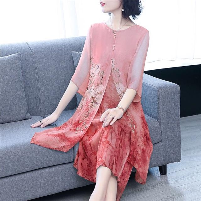 Váy đầm trung niên nữ thiết kế cao cấp