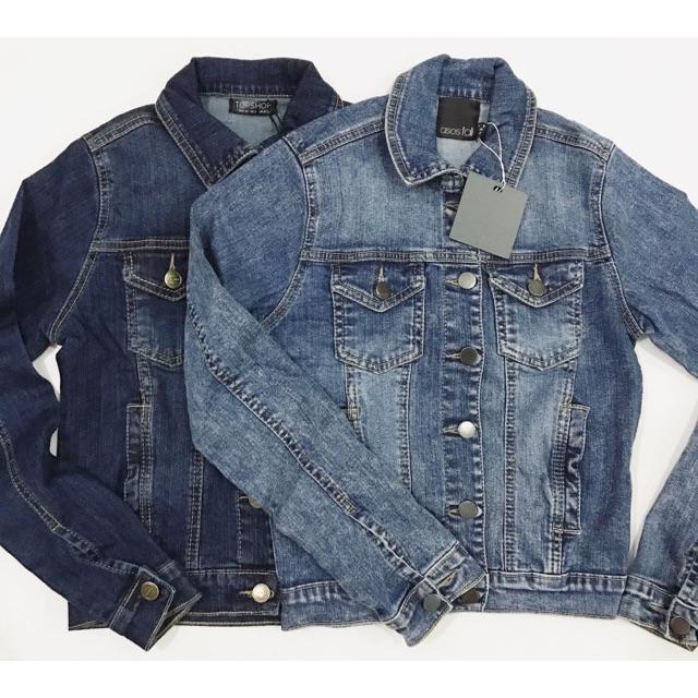 Jacket Jeans Asos&Topshop Xuất Xịn