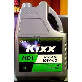 KIXX OIL API CI-4/SL 10W-40