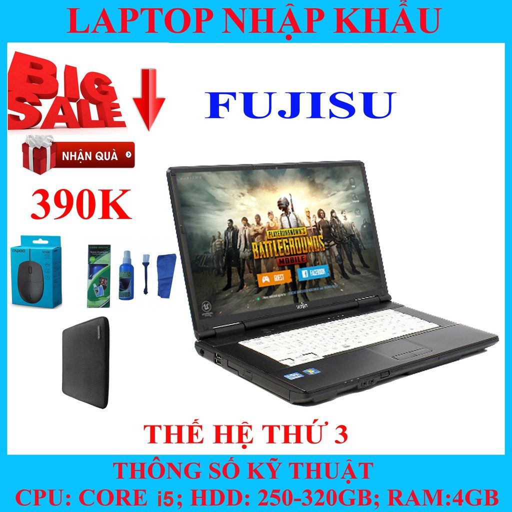 Laptop chơi game fifa 4, pubg mobile,  Core i5, RAM 4G, 250gb #5