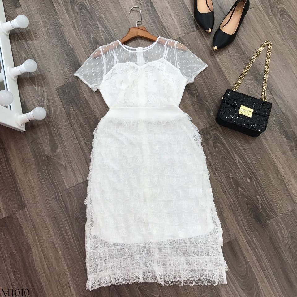 Đầm ren tầng