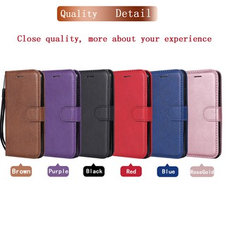 Case for Iphone 6/6S/6 Plus/6S Plus solid color leather cover phone shell