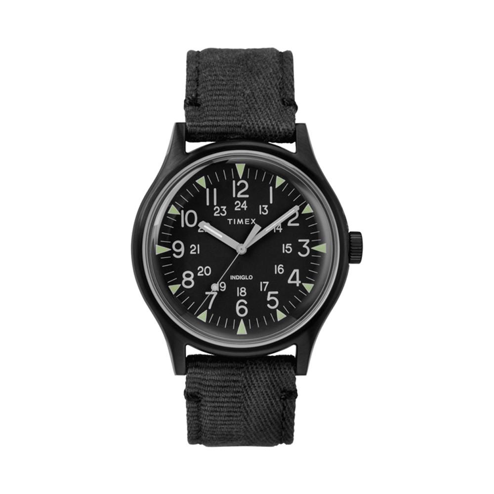 [Mã WTCHMALLTET hoàn 100k xu đơn 499K] Đồng hồ Nam Timex MK1 Steel 40mm Fabric Strap - TW2R68200