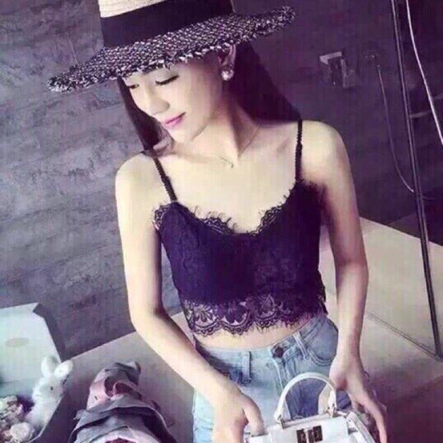 Áo bra ren quai mảnh