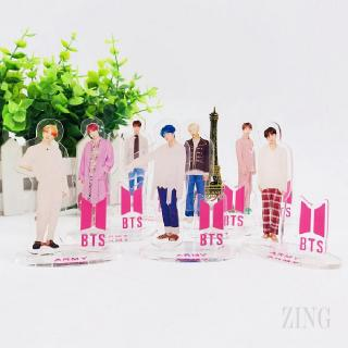 Ready Stock] COD BT21 BTS Bangtan KPOP Boy Transparent Stop Card New Album Licensing 416
