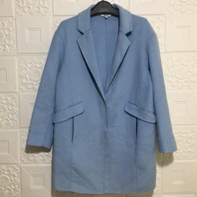 Áo khoác dạ-áo khoác dạ một lớp-áo khoác dạ dài