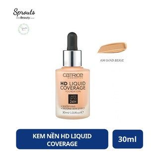 Kem Nền Catrice HD Liquid Coverage | @Sprouts Beauty
