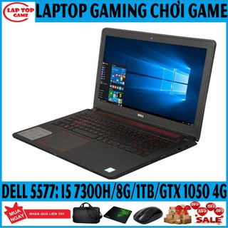 LAPTOP GAME Dell 5577 Core i5 7300HQ, 8G, 1TB, GTX 1050 4G, 15.6IN FHD, MỚI 99% Laptop cũ, gaming chơi game