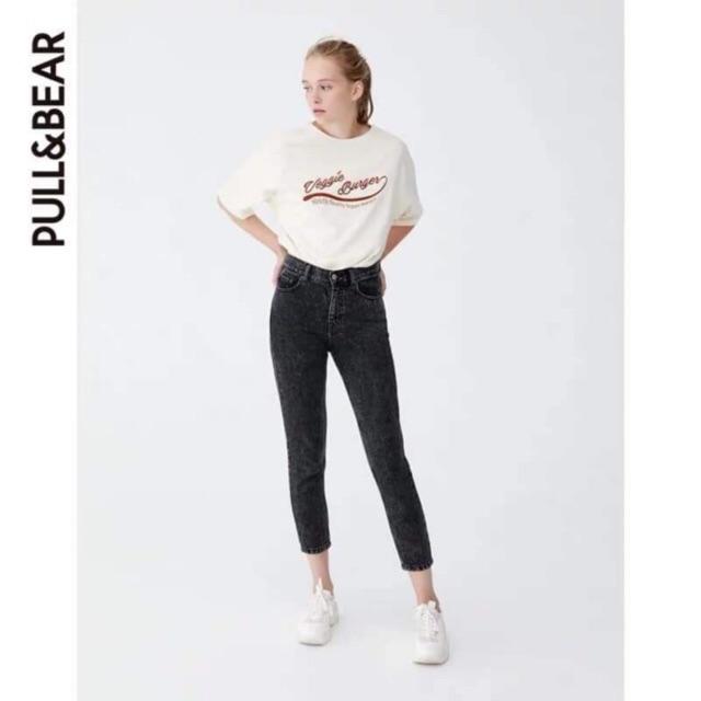 [Có sẵn] Quần jeans PULL&BEAR dáng baggy