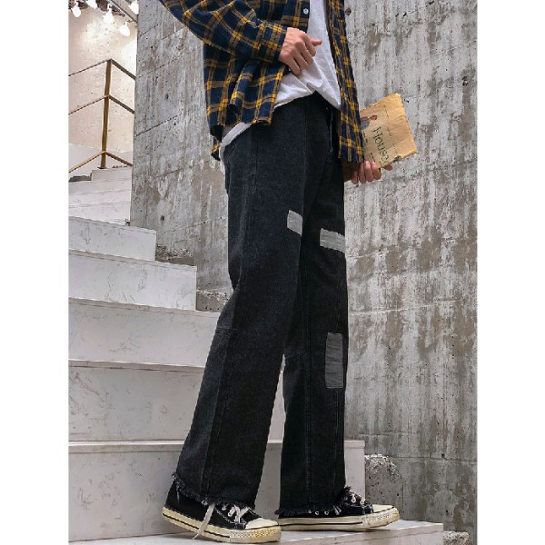 quần jean nam ống suông