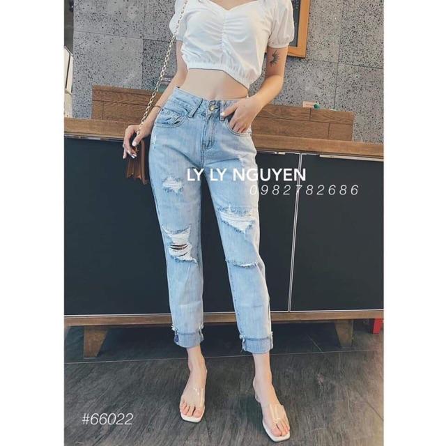 Quần jeans rách nữ