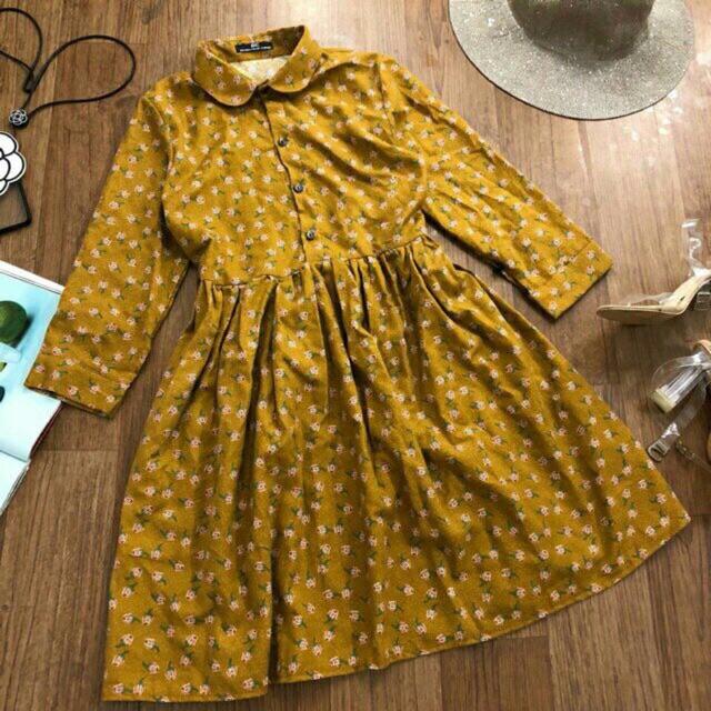 Váy baby doll hoa nhí