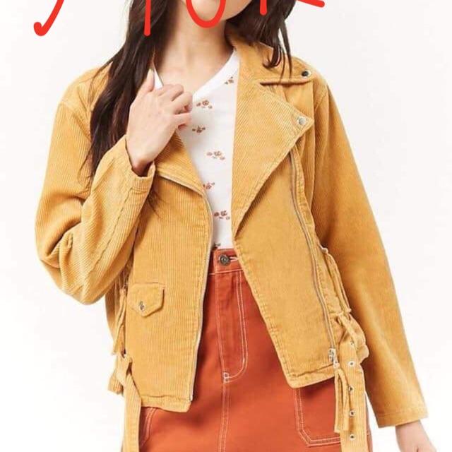 Combo áo khoác vàng