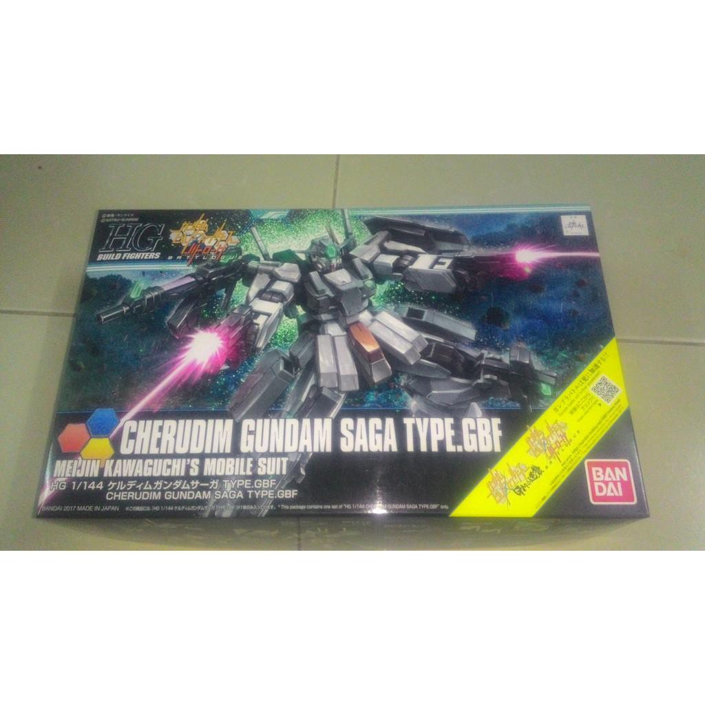 Mô hình lắp ráp HG BF 1/144 Gundam Cherudim Saga Bandai