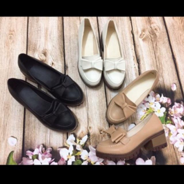 Giày cao gót nơ xinh