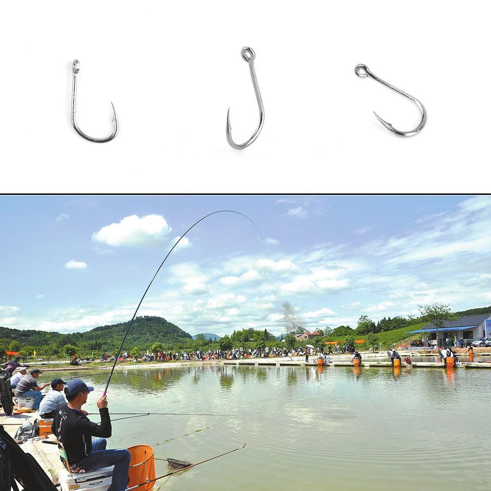 Hộp mồi đánh cá 100 móc cá
