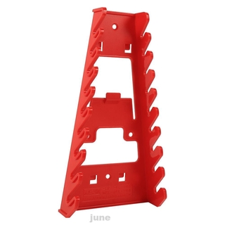 Hình ảnh Plastic Home Tools Wall Mounted Convenient Red Space Saving Portable Industrial Wrench Rack