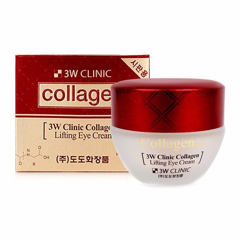 Kem dưỡng ngăn ngừa lão hóa da vùng mắt 3W Clinic Collagen Lifting Eye Cream 35ml