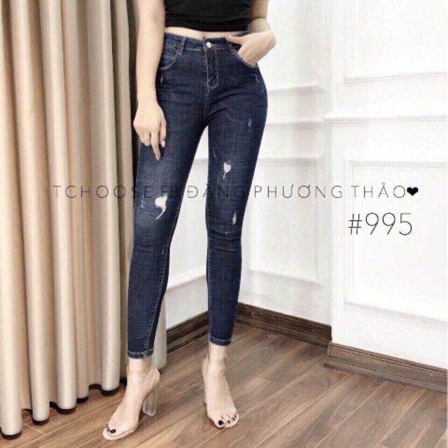Quần Jean Nữ Thời Trang Chất Liệu Đẹp PV995