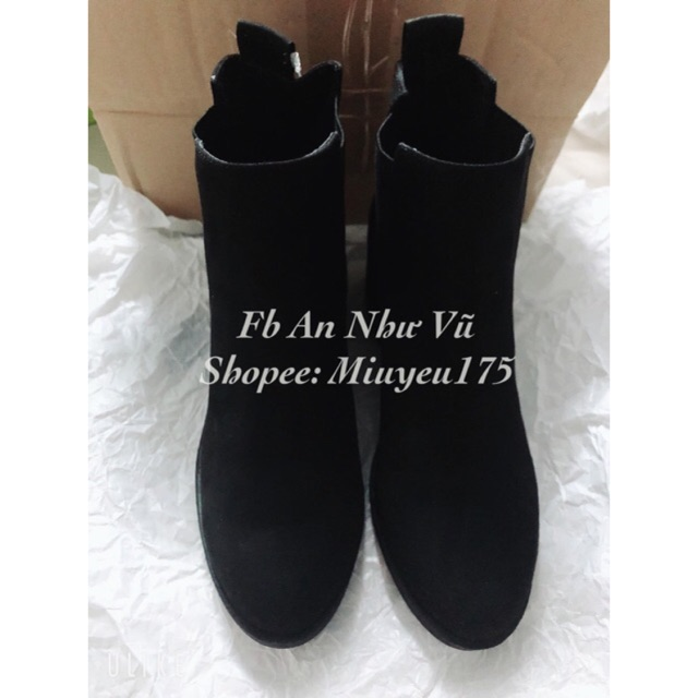 [SẴN] Boots HM cao 5cm - Authentic