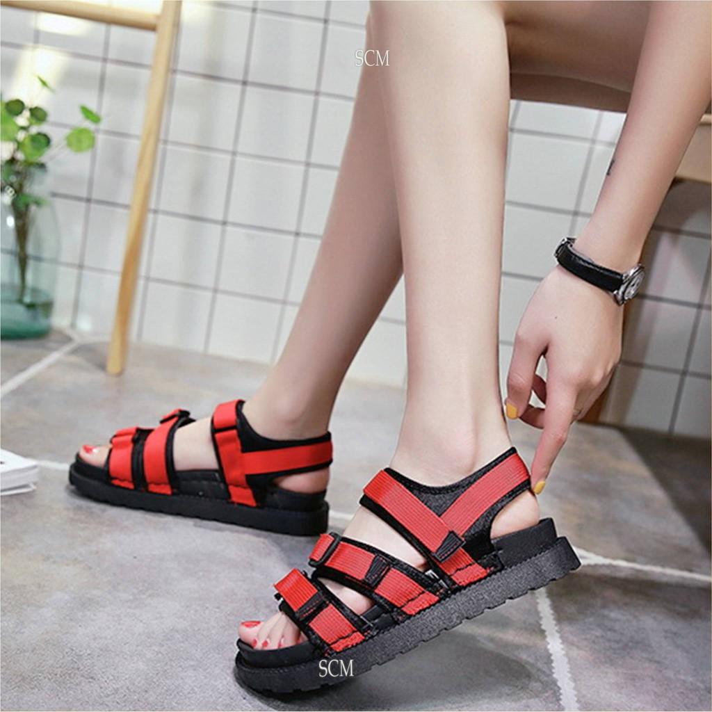 Giày sandal bánh mì 3 khóa 03