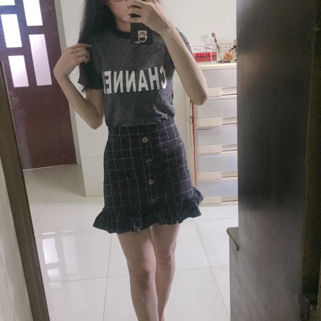 1367731460 - Thanh lí set áo thun + chân váy đuôi cá