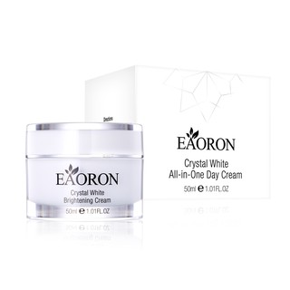 Kem dưỡng trắng da EAORON Crystal White Brightening Cream All-in-One Day Cream 50ml