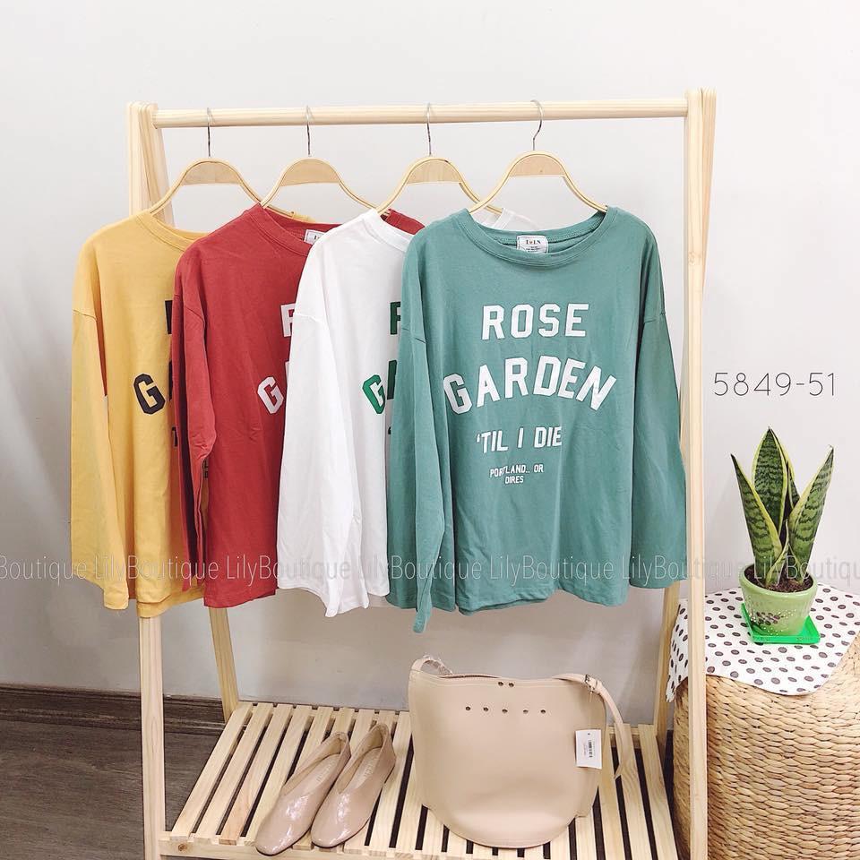 áo thun rose