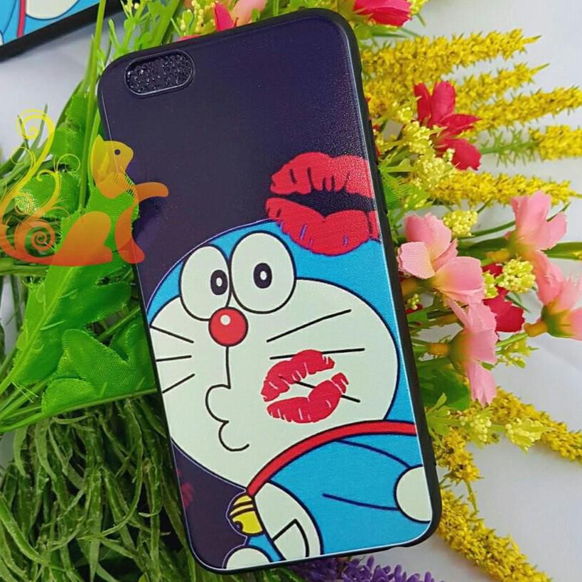 Ốp lưng 4D - Doremon Môi Hồng - Iphone 5/5s/6/6s/6+/6s+/7/8/7+/8+