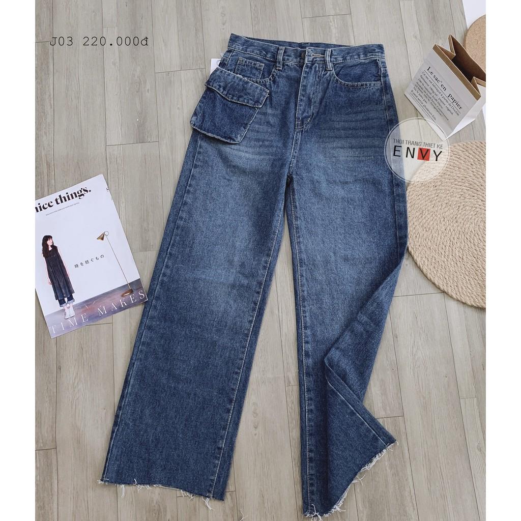 Quần Jeans ống rộng ENVY - J03