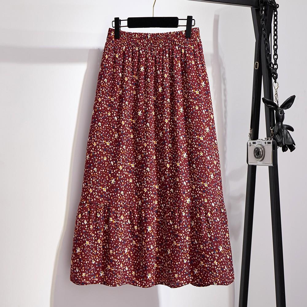Chân Váy Mỏng Cỡ Lớn Thời Trang Mùa Hè Cho Nữ Có Size Lớn 300kg