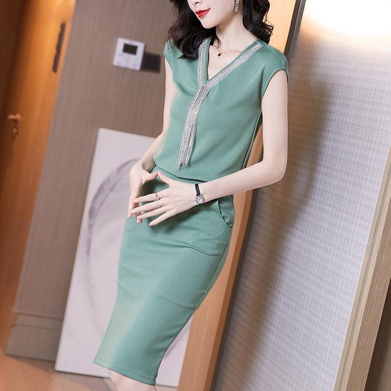 Bộ Áo Khoác Mỏng + Chân Váy Xinh Xắn Dành Cho Nữ 6.18 2020
