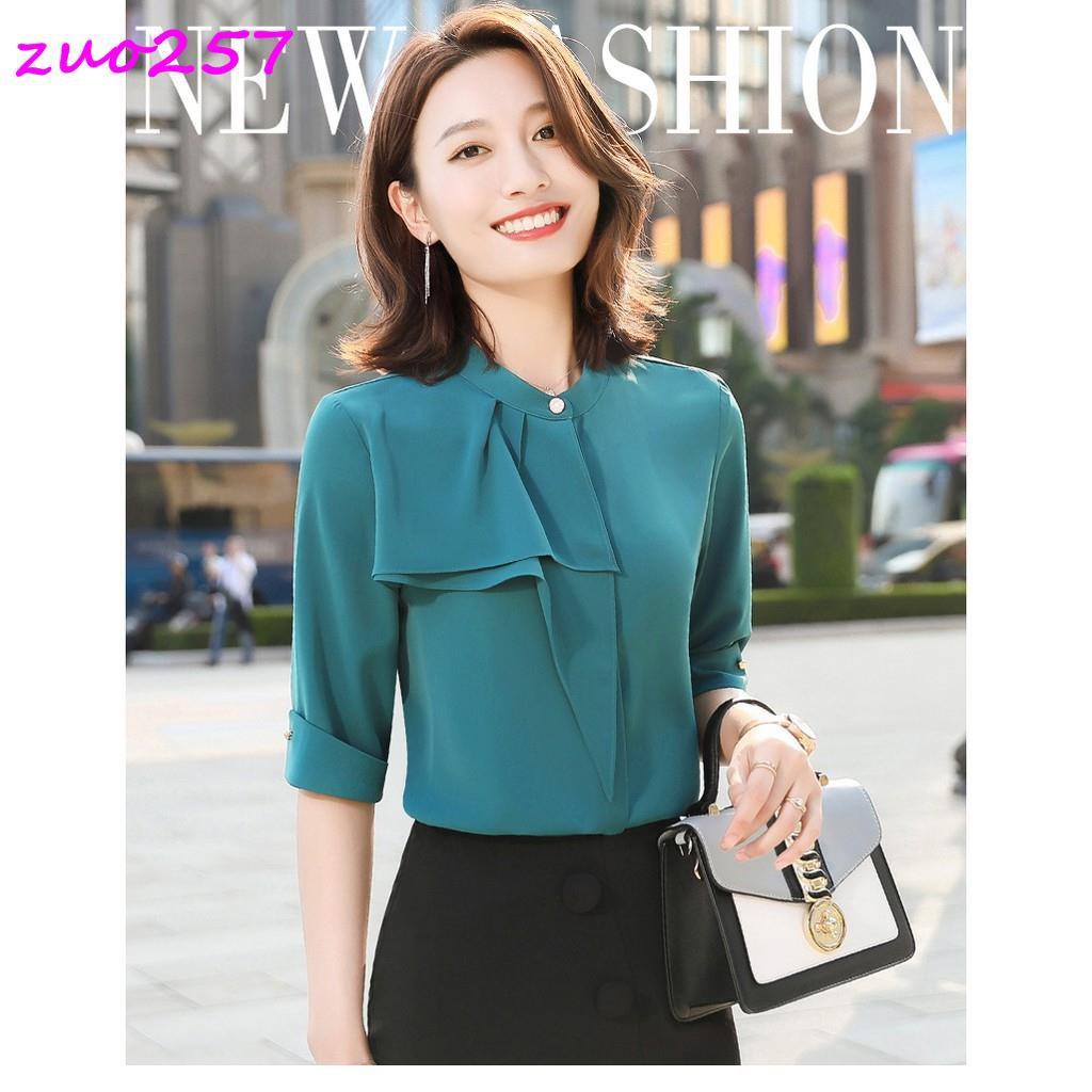 Bộ Áo Sơ Mi Dài Tay + Chân Váy Xinh Xắn Theo Phong Cách Hàn Quốc Dành Cho Nữ 2020