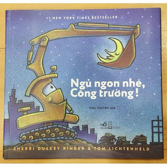 Sách Ngủ ngon ở công trường - A đây rồi chắc chắn là nó Song ngữ