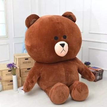[Giá Rẻ Siêu Kinh điển ] Gấu Brown size 1m2 cao 1m - Hàng cao cấp siêu đáng yêu cực đẹp