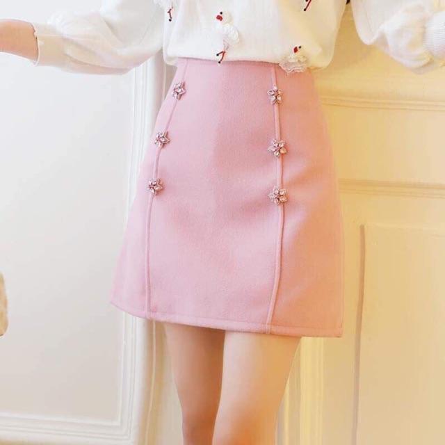 Chân váy dạ tiểu thư