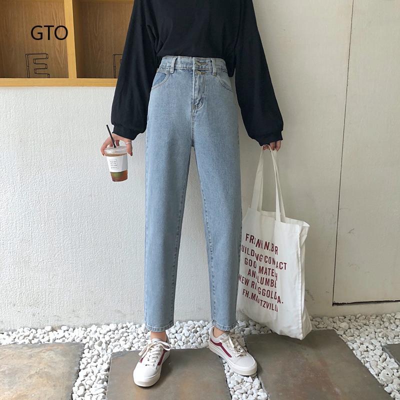 Quần jeans skinny nữ lưng cao mài rách thời trang