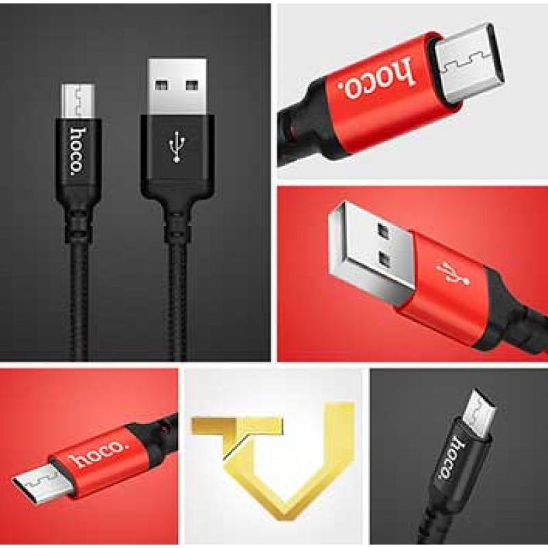 Cáp Sạc Lightning Hoco X14 - Sạc Nhanh Iphone Ipad - (Dài 1m -2m)