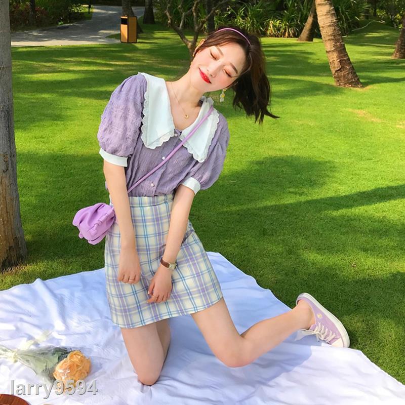 Set Áo Thun Và Chân Váy Thời Trang 2020 Xinh Xắn Cho Nữ
