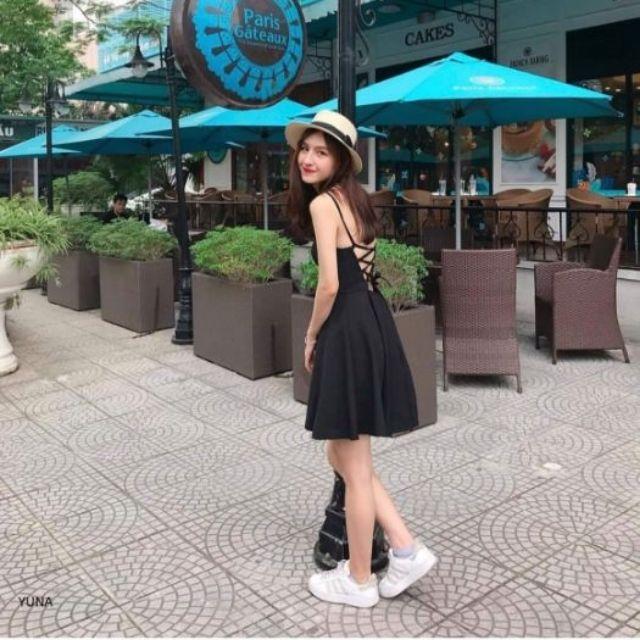 Ảnh Thật - Đầm dạo phố- đầm đi tiệc Yuna dress - Hàng thiết kế