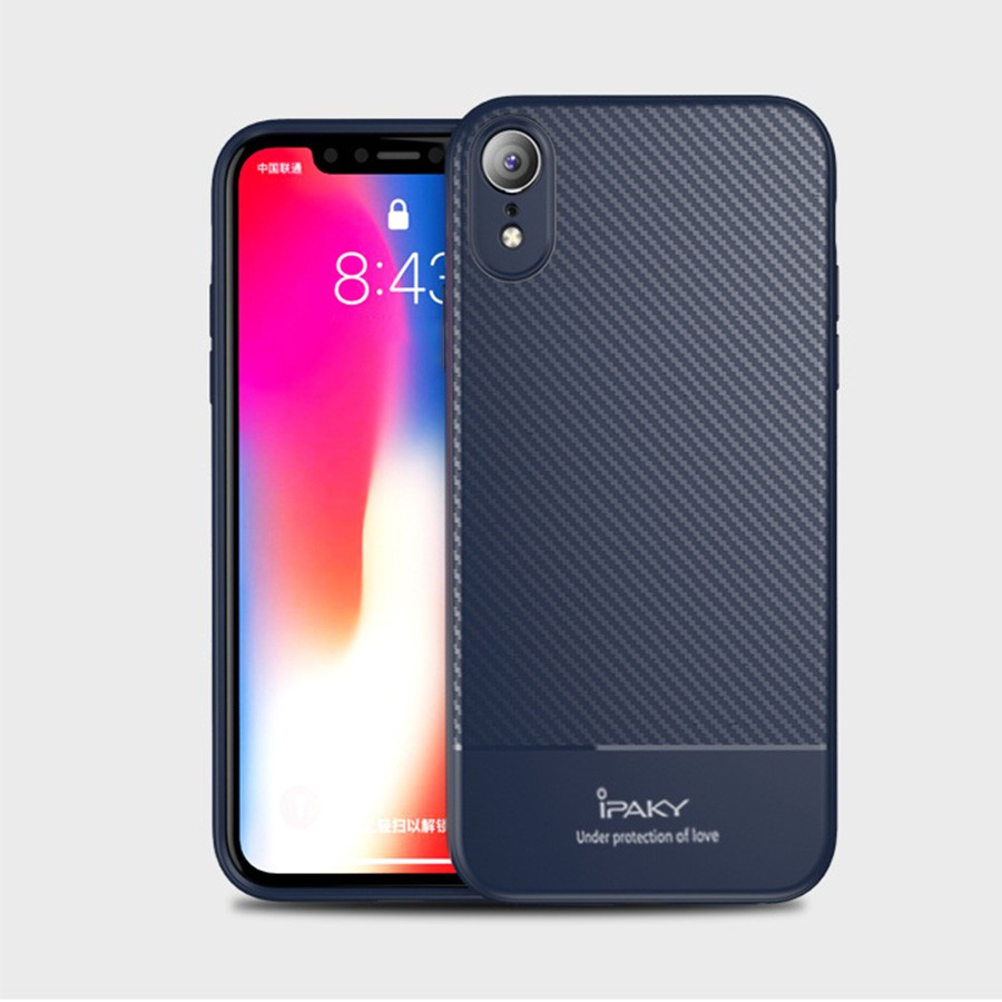 Ốp iPaky Cacbon iPhone XR