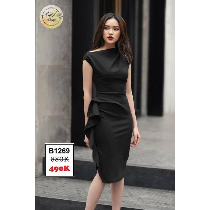 Váy đầm Nataly Đen - Hàng thiết kế