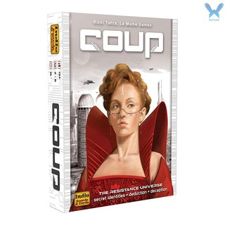 Hình ảnh 【rcfa】Funny Card Game Coup Face-down Character Cards Party Game for Friends Board Game