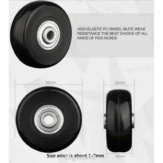 Hình ảnh Axles Flexible Repair Rubber Silent Travel Universal Luggage Wheel