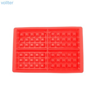 Hình ảnh Square DIY Silicone Cake Mould Waffles Cake Chocolate Pan Baking Mould Tools - VOLLTER