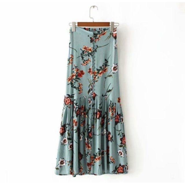Chân váy hoa cực hót( nhiều mầu)