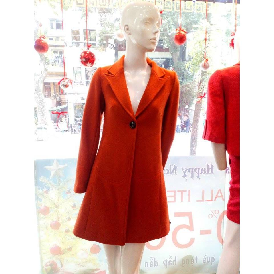The One Fashion áo dạ dài AKB018