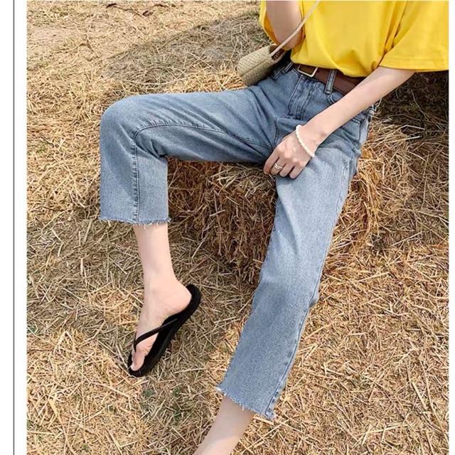 Quần jeans nữ form ngắn mẫu mới 2020